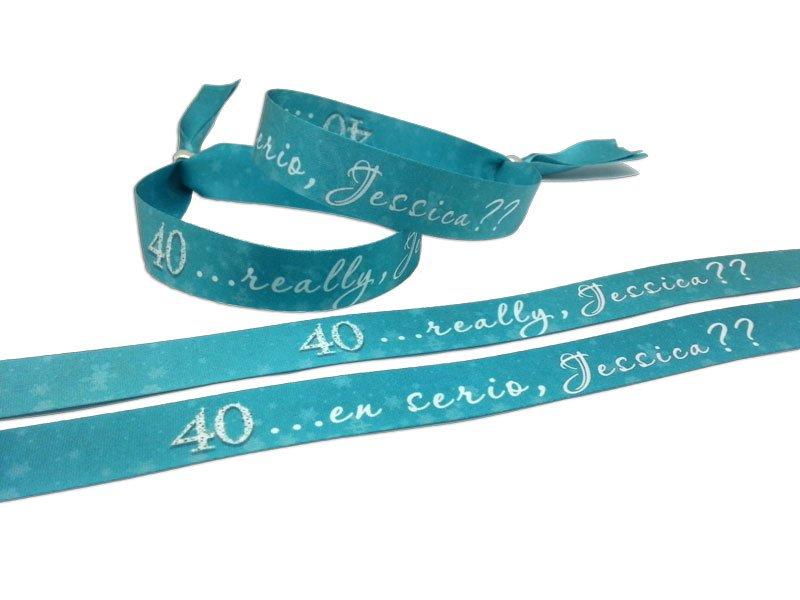 pulseras-de-tela-a-doble-cara-sublimación-personalizadas-para-aniversarios-cumpleaños-40-años-pulseradetela-es