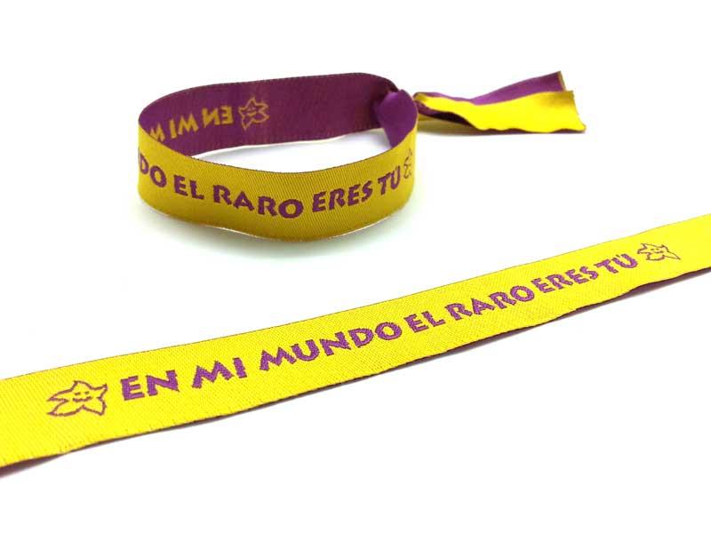 pulseras-de-tela-solidarias-EN-MI-MUNDO-EL-RARO-ERES-TU