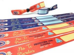 pulseras-de-tela-solidarias-protección-civil-policía-local-No-Te-Pierdas-pulseradetela-es