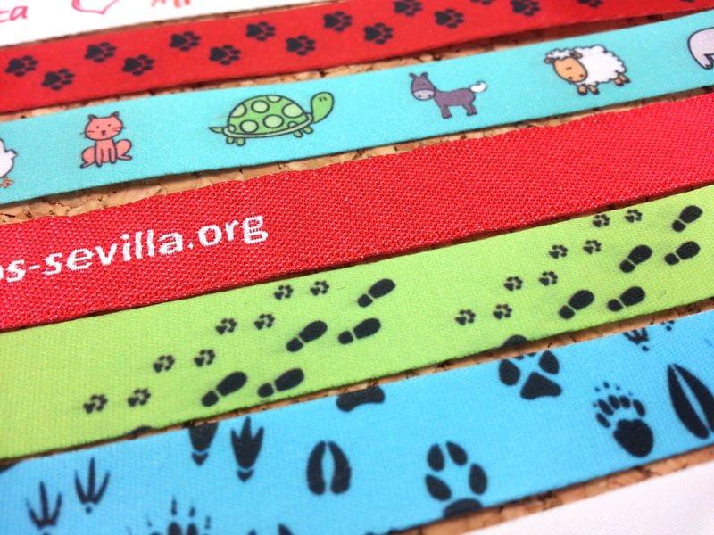 pulseras-de-tela-personalizadas-Día-Mundial-de-los-animales-pulseradetela-es-3