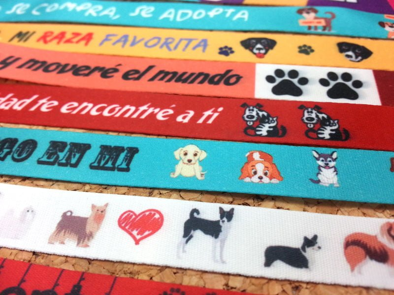 pulseras-de-tela-personalizadas-Día-Mundial-de-los-animales-pulseradetela-es-4