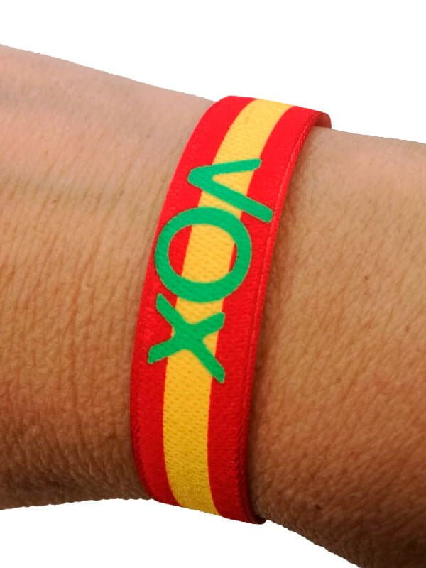 pulseras-de-tela-personalizadas-para-elecciones-de-partidos-politicos-VOX-pulseradetela-es