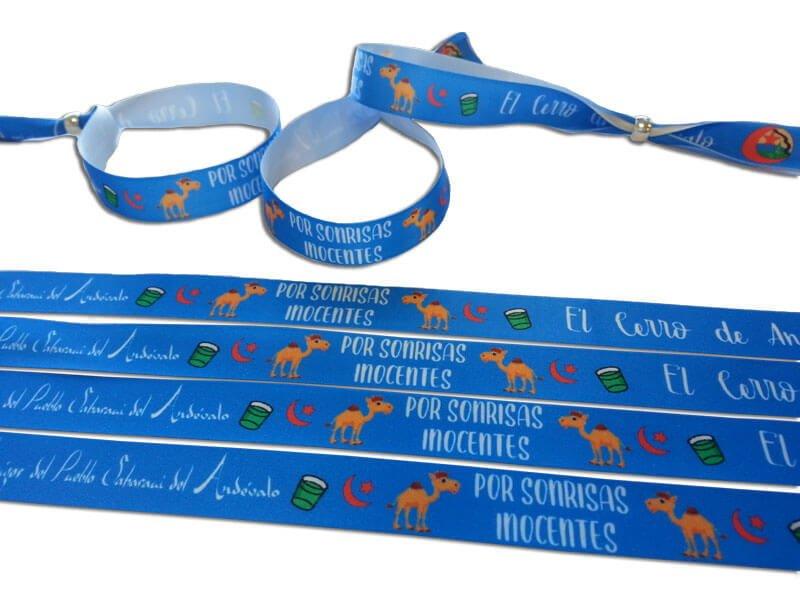 pulseras-de-tela-personalizadas-asociación-del-pueblo-Saharaui-del-Andévalo-pulseradetela-es