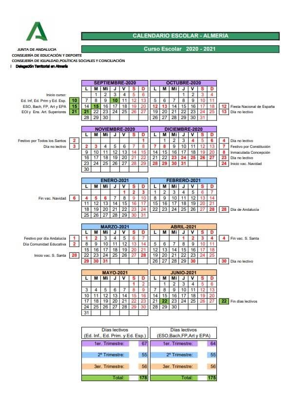 calendario-escolar-2020-2021-almeria-junta-de-andalucia-pulseras-personalizadas