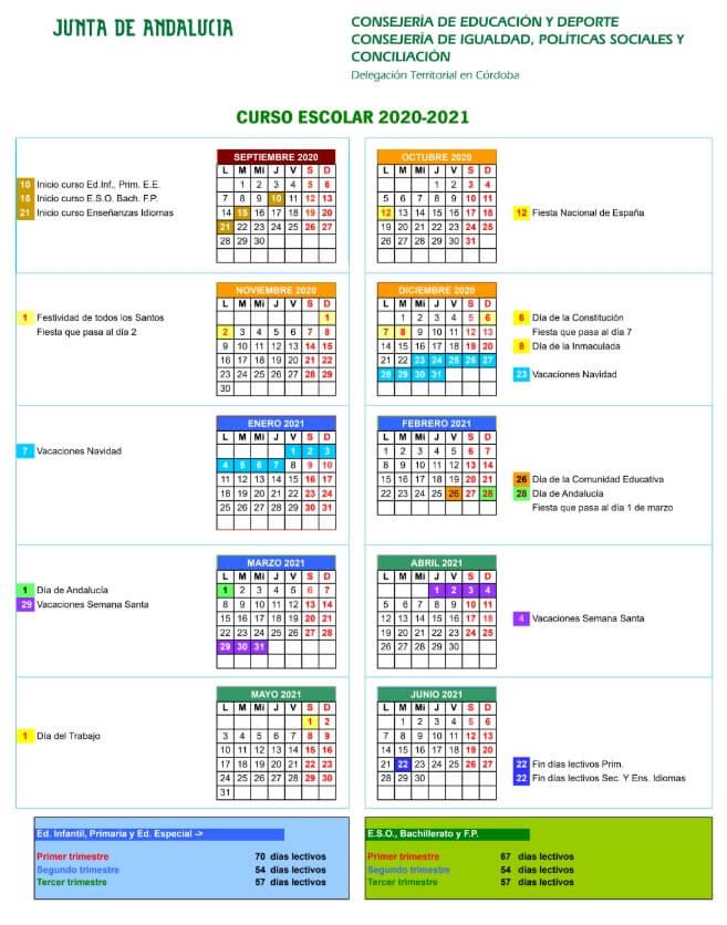 calendario-escolar-2020-2021-cordoba-junta-de-andalucia-pulseras-personalizadas