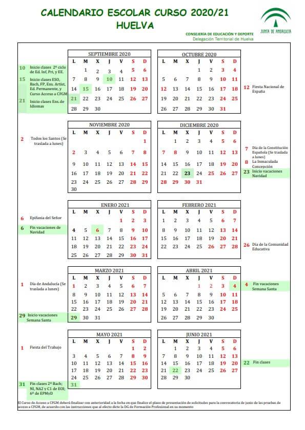 calendario-escolar-2020-2021-huelva-junta-de-andalucia-pulseras-personalizadas