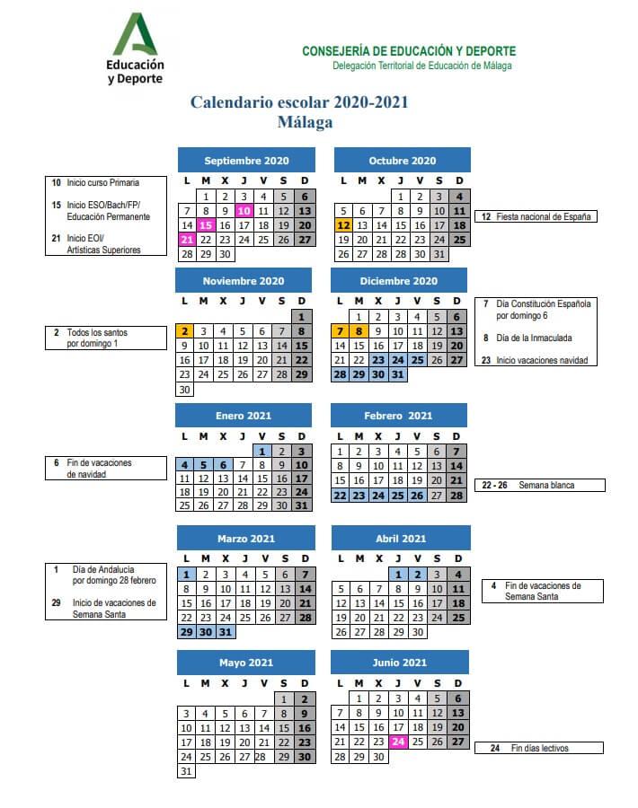 calendario-escolar-2020-2021-malaga-junta-de-andalucia-pulseras-personalizadas